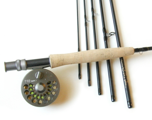6 Piece Pro Fly Rod / MKI 456 Disc Drag Fly Reel - Fly Fishing Combo