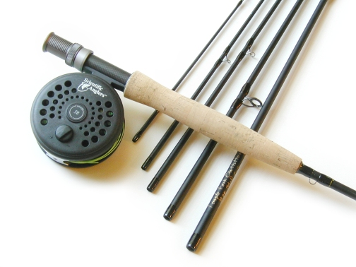 6wt, 9ft, 6pc Pro Fly Rod / Concept� 1 Fly Reel - Fly Fishing Combo