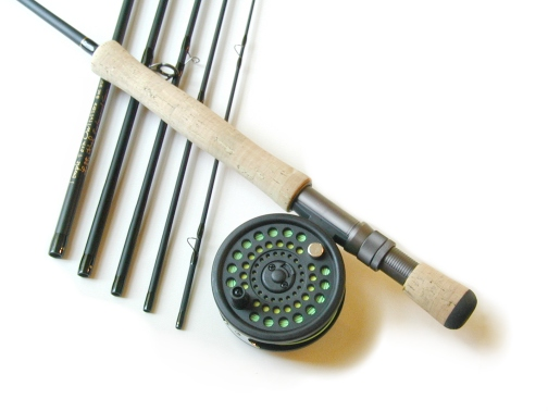8wt, 9ft, 6pc Pro Fly Rod / Concept� 1 Fly Reel - Fly Fishing Combo
