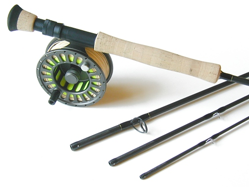 12wt 9ft 4pc Pro Fly Rod / LA 425 Fly Reel TFO Tarpon Outfit