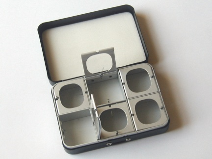 6 window metal fly box by okuma: fly fishing gear - burleson, Fly Fishing Bait
