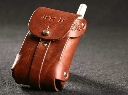 No. 45 Leather Cell Phone / iPod� Holster with Belt Loop by Colonel Littleton