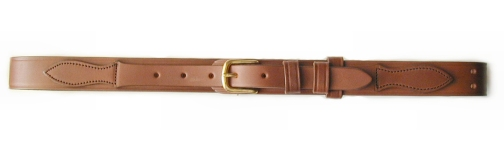 No. 2 Brown Leather Ranger Belt w/ Growing Room