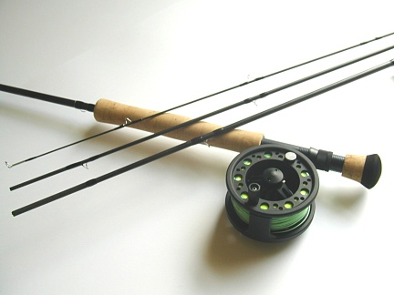 "Temple Fork Outfitters 7wt ""Ten Footer"" Professional Large Arbor Starter Combo"