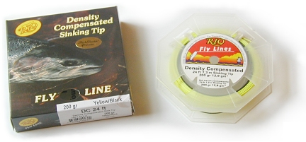 Desity Compensated Sink Tip Fly Line by RIO