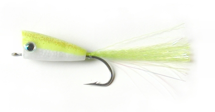 Chartreuse Supreme Popper (1 Pack) by East Cut