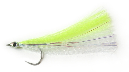 Chartreuse Bait Fish (1 Pack) by East Cut
