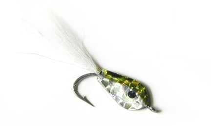 DLs Green Back Peanut Bunker - 1 Fly Pack