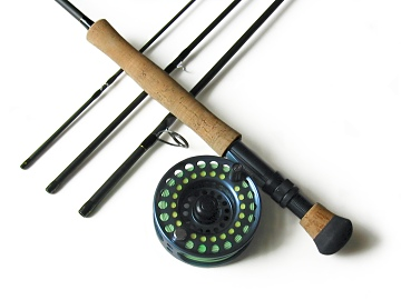 Fly rod reel line leader combos fly fishing gear for Fly fishing combos