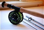 9wt, 9ft, 4pc Pro Fly Rod / CLA Prism Fly Reel Combo by TFO