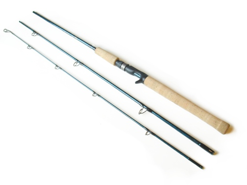 8-17lb. 7ft , 3pc TiCr² Casting Rod