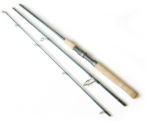 4-10lb. 7ft , 3pc TiCr&#178; Spinning Rod