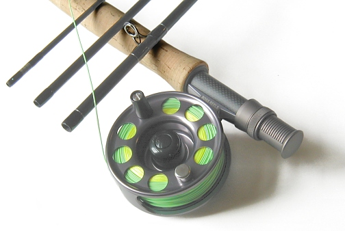 TiCr Fly Rod / Rhythm Fly Reel Combo