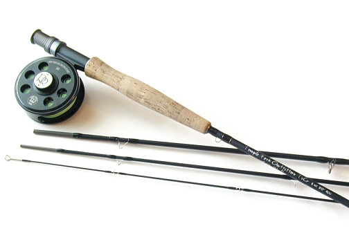 TiCr Fly Rod / Cimarron Fly Reel Combo