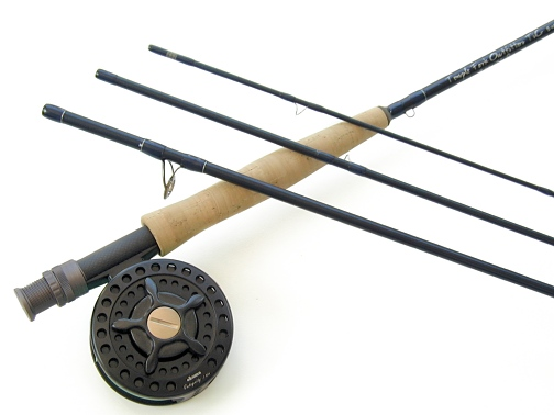 TiCr X Series Fly Rod / Integrity Large Arbor Fly Reel Combo