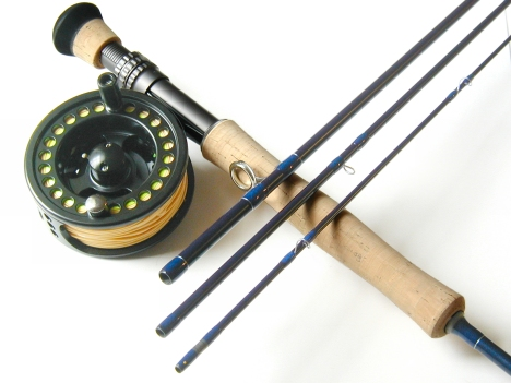 8wt, 9ft, 4pc TiCr X Series Super Fast Action Integrity Large Arbor Combo