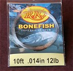 12lb. 10ft. Knotless Bonefish Leader by RIO