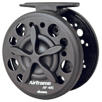 Okuma Large Arbor Graphite Reel