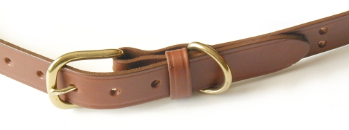 No.1 Brown Colonel Belt w/ Growing Room by Colonel Littleton