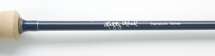 6wt, 9ft, 4pc Lefty Kreh Signature TiCr X Series Fast Action Fly Rod