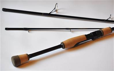 gary loomis travel spinning rod 7ft 3pc heavy by tfo: fly fishing, Fishing Reels