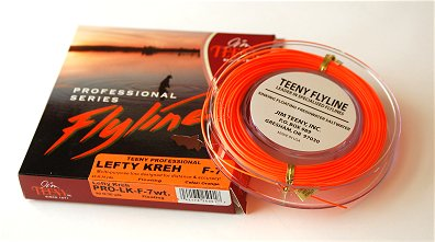 Lefty kreh professional floating fly line by jim teeny for Orange fishing line