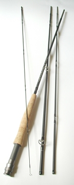 Temple Fork Outfitters Fly Rods TiCr Series 6wt, 9ft, 4pc Light Super Fast Action by Lefty Kreh