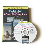 Bonefish School & Billy Pates Saltwater Fly Casting Secrets - DVD