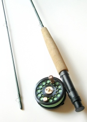 3wt  7ft 6in  2pc signature series fly rod   tfo no  i