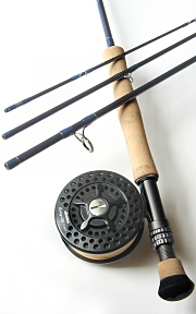 8wt, 9ft, 4pc TiCr X Series Fly Rod / Integrity Large Arbor Fly Reel Combo