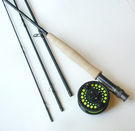 3wt, 7�ft, 4pc Pro Fly Rod / Flywater Fly Reel - Fly Fishing Combo