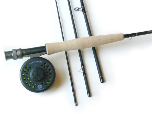 Lefty Kreh Professional Series Fly Rod / Flywater Fly Reel - Fly Fishing Combo