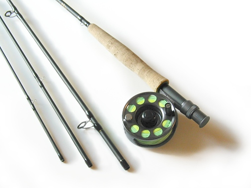 Lefty Kreh Professional Series Fly Rod / Rythym Fly Reel - Fly Fishing Combo