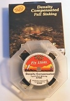 Density Compensated Type 4 Full Sink Fly Line by RIO