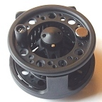 Airframe Graphite Large Arbor Fly Reel by Okuma