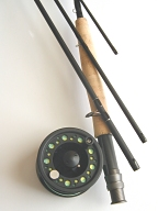 5wt, 8ft-6in, 4pc Pro Fly Rod / Large Arbor Starter Fly Reel - Fly Fishing Outfit