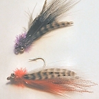 Deep Water Bead Chain - 2 Fly Sampler - Saltwater Flies by DL Goddard