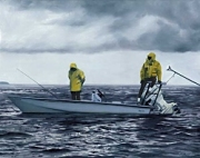 Tarpon Time Out Print by Vaughn Cochran