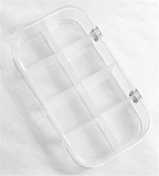 8 Compartment Clear Fly Box by Scientific Anglers