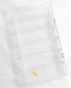 6 Compartment Clear Fly Box by Scientific Anglers