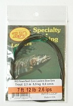 12lb. 7ft. Trout VersiLeader 2.6 IPS Sinking Tapered Leader by Rio