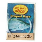 12lb. 7ft. Striped Bass Knotless Tapered Leader by RIO