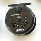 Sierra 7/8 Disc Drag Fly Reel by Okuma