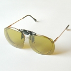 Clip-On Sunglasses w/ Yellow Polarized Lenses by Action Optics