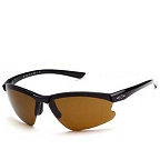 Black Frame/Sienna Brown Lens Sunglasses w/ Interchangeable Lenses by Smith-Action Optics