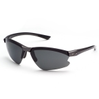 Steel Frame/Grey Lens Sunglasses w/ Interchangeable Lenses by Smith-Action Optics