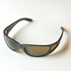 Fishbone Sunglasses w/ Brown Polarized Glass Lenses by Action Optics
