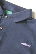 Navy Bonefish Knit Shirt by Burleson Sporting Co.