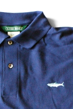 Sapphire Blue Tarpon Knit Shirt by Burleson Sporting Co.