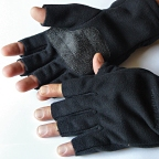 Windproof Fingerless Fleece Bunting Gloves by Pacific Fly Group